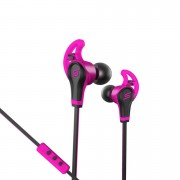 SMS Street Sport In Ear Wired Headphones with Mic & Remote - Pink