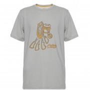 Polera Hombre Lippi Climb Cotton T-Shirt Melange - Beige