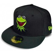 Boné New Era Caco Muppets Black - 7 3/8 - G