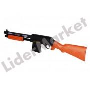 Pusca de jucarie AK-998 cu efecte de lumini si gloante de plastic