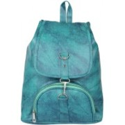 View Bags Backpacks for girls, School Bag, Collage , Traveling, casual, party 15 L Backpack(Green)