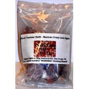 Rock Tumbler Gem Refill Kit Mexican Crazy Lace Agate Rough 8oz