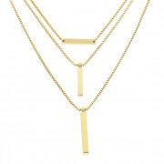 Liebeskind Cadena Veneciana 43 cm acero inoxidable ip gold