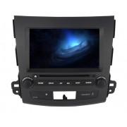 """Autoradio Android Mitsubishi Outlander Citroen C-Crosser y Peugeot 4007 2 DIN 8"""" HD GPS"""