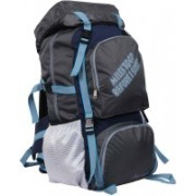 Pole Star 55GREY Rucksack - 60 L(Grey)