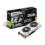 Asus Dual-gtx1060-o3g NVIDIA GeForce grafische kaart (3GB ddr5, PCIe 3.0, HDMI, DisplayPort, DVI)