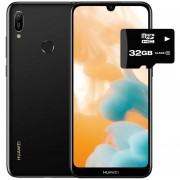 Celular Huawei Y6 2019 32GB+2GB Dual Sim + Micro SD 32GB Negro