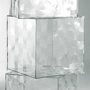 Kartell Rangement Optic sans porte - Kartell cristal en matière plastique
