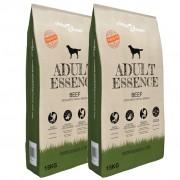 vidaXL Prémiové suché krmivo pro psy Adult Essence Beef, 2 ks, 30 kg