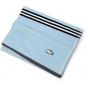 Lacoste Light Blue Striped Beach Towel B92 Naturel-Mering-Chan