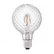 Bec LED decorativ G95 FILAMENT E27 3,5W 2700K