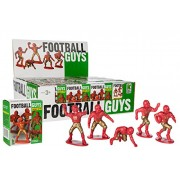 Kaskey Kids Football Guys Mystery Box Red/Gold Inspires Imagination with Open-Ended Play Includes 24Piece For Ages 3 & Up Action Figure