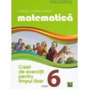 Matematica. Caiet de exercitii pentru timpul liber. Clasa a VI-a