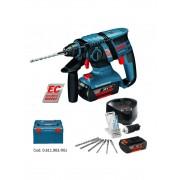 Bosch Tassellatore Bosch GBH 36 V-EC 2 batterie + valigetta + mandrino + punte