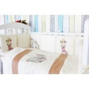 Топотушки Комплект в кроватку Топотушки Зайка-Акварель (6 предметов)