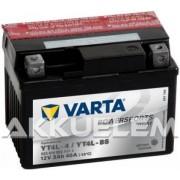 Varta YT4L-BS 12V 3Ah motorkerékpár akkumulátor (+AJÁNDÉK!)