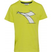 Diadora T-Shirt, Wild Lime Green S