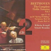 L Van Beethoven - Violinsonaten Vol.1 (0028945943329) (2 CD)