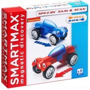 Магнитный конструктор - SmartMax Special Гонщики Сэм и Стэн (инерц.)
