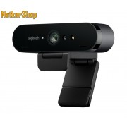 Logitech BRIO Ultra HD Pro (960-001106) 4K UHD 2160p USB fekete mikrofonos webkamera (2 év garancia)