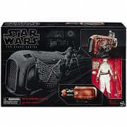 Star Wars The Black Series - Deslizador De Rey (Jakku) Y Figura