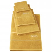 Hugo BOSS Plain Towels - Topaz - Bath Towel - Yellow