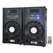 Boxe ExtraBass Ailiang USB SD card joc de lumini bluetooth CADOU modulator FM