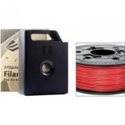 3D nyomtató szál XYZprinting ABS műanyag 1.75 mm Piros 600 g Patron (1384636)