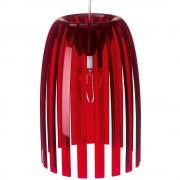 KOZIOL Stropní svítidlo JOSEPHINE, velikost S- barva červená, KOZIOL