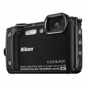 Nikon Coolpix W300 Svart Holiday Kit