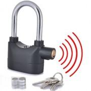 Anti Theft Burglar Alarm Padlock Electronic Alarm Lock Security Siren for Bike