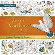 Jesus Calling Adult Coloring Book: Creative Coloring and Hand Lettering, Paperback/Sarah Young