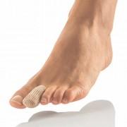 Lábujjvédő gélsapka, vágható textil borítású lábujjsapka gélbetéttel, Bort 137050, L