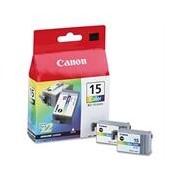 Canon BCI-15C 2 x Cartuchos de tinta color (Canon 8191A002)