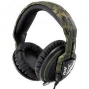Геймърски слушалки с микрофон, военен камуфлаж asus echelon forest headset