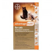 Advantage Multi (Orange) for Kittens & Small Cats up to 10lbs 6 + 2 Free