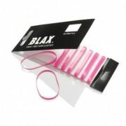 Blax Snag-Free Hair Elastics Hårnoddar (Rosa)