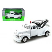 1953 Chevrolet Tow 3800 Truck Plain White 1/24 by Welly 22086WMJ-WHND