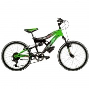 Bicicleta Full Suspension 20 6 viteze