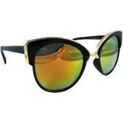Els Cat-eye Sunglasses(Red, Yellow)
