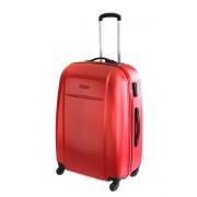 Duża walizka Puccini ABS02 A w kolorze czerwonym - Nowa Kolekcja
