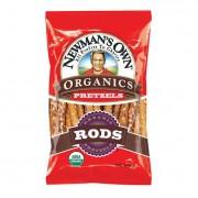 Newman's Own Organics Salted Pretzel Rods - Organic - Case of 12 - 8 oz.