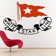 Decor Villa Wall Sticker ( Star Line Surface Covering Area 26 x 17 Inch)