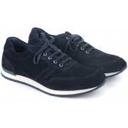 Suitable Sneaker Dunkelblau Wildleder - Dunkelblau 41