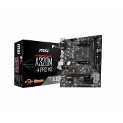MotherBoard MSI A320 M-A PRO SKT AMD AM4 2xDDR4 DVI-D/HDMI mATX