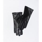 Etam Gants en cuir - SHINY - S - Noir - Femme - Etam