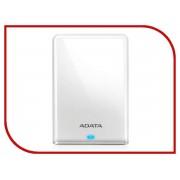 Жесткий диск A-Data HV620S Slim USB 3.1 White AHV620S-1TU31-CWH