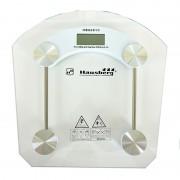 Cantar corporal Hausberg HB-6001C, 150 kg, LCD, platforma sticla