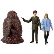 Underground Toys Doctor Who The Three Doctors Action Figure Collectors Set, 5""