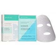Patchology Hydrate FlashMasque Sheet Mask, a Deeply Moisturizing Hydrating Mask w/ Hyaluronic Acid, Vitamin B5, Betaine- 4 Masks/ Box